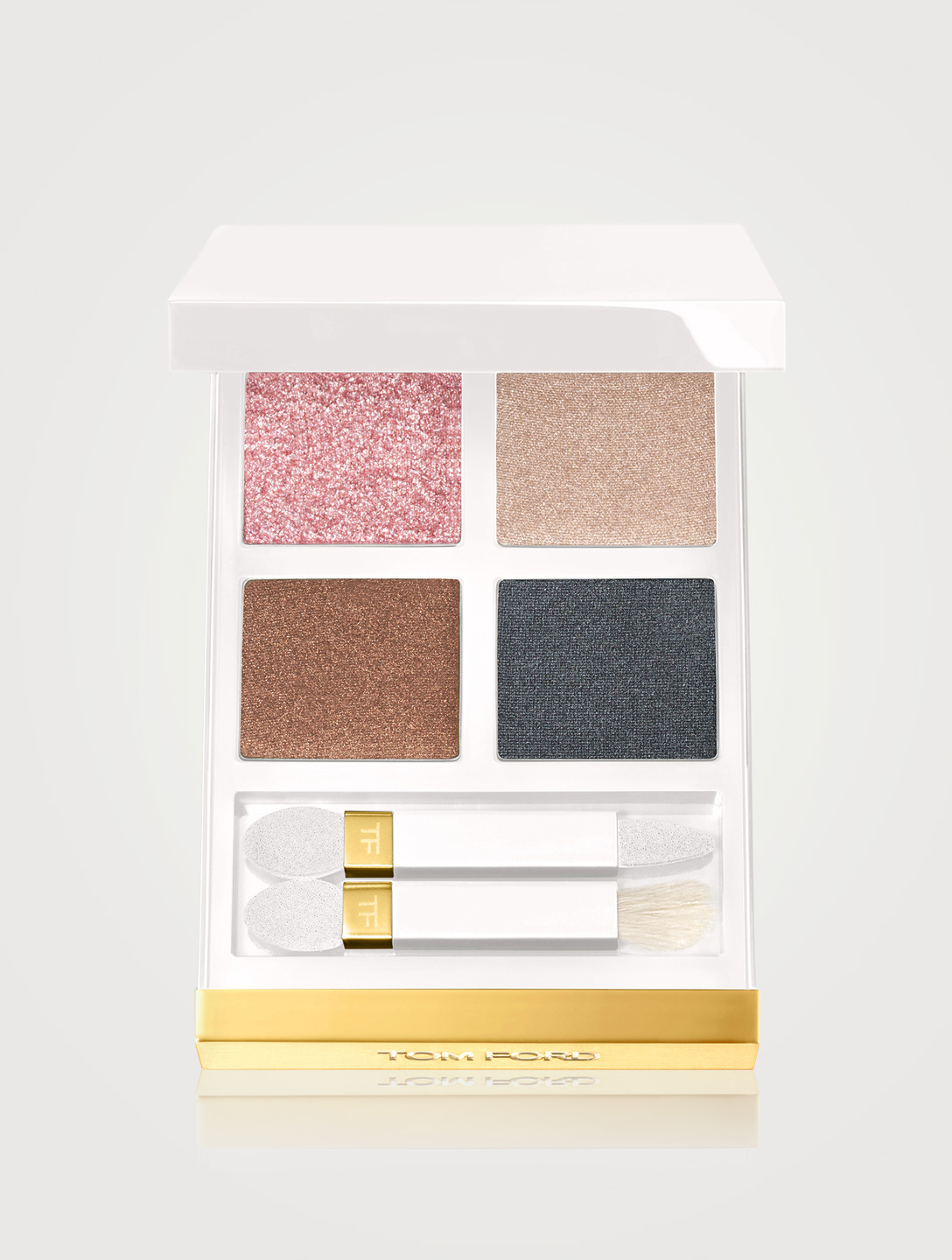 TOM FORD White Suede Eye Quad Beauty