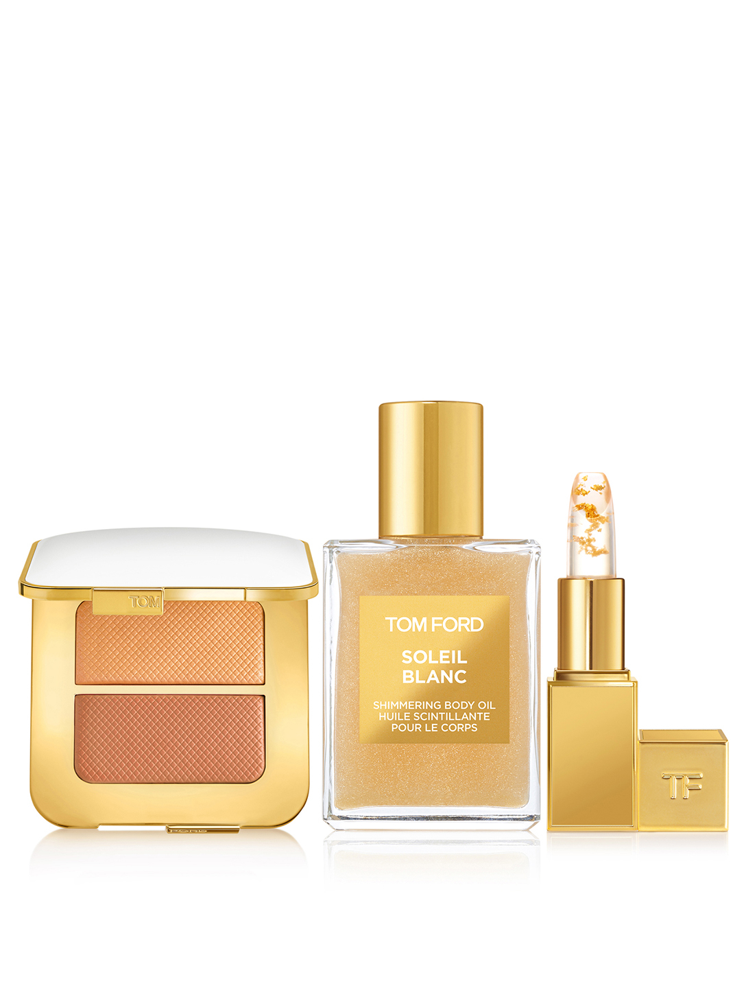 TOM FORD Coffret Soleil Gold and Shimmer Beauté Multi