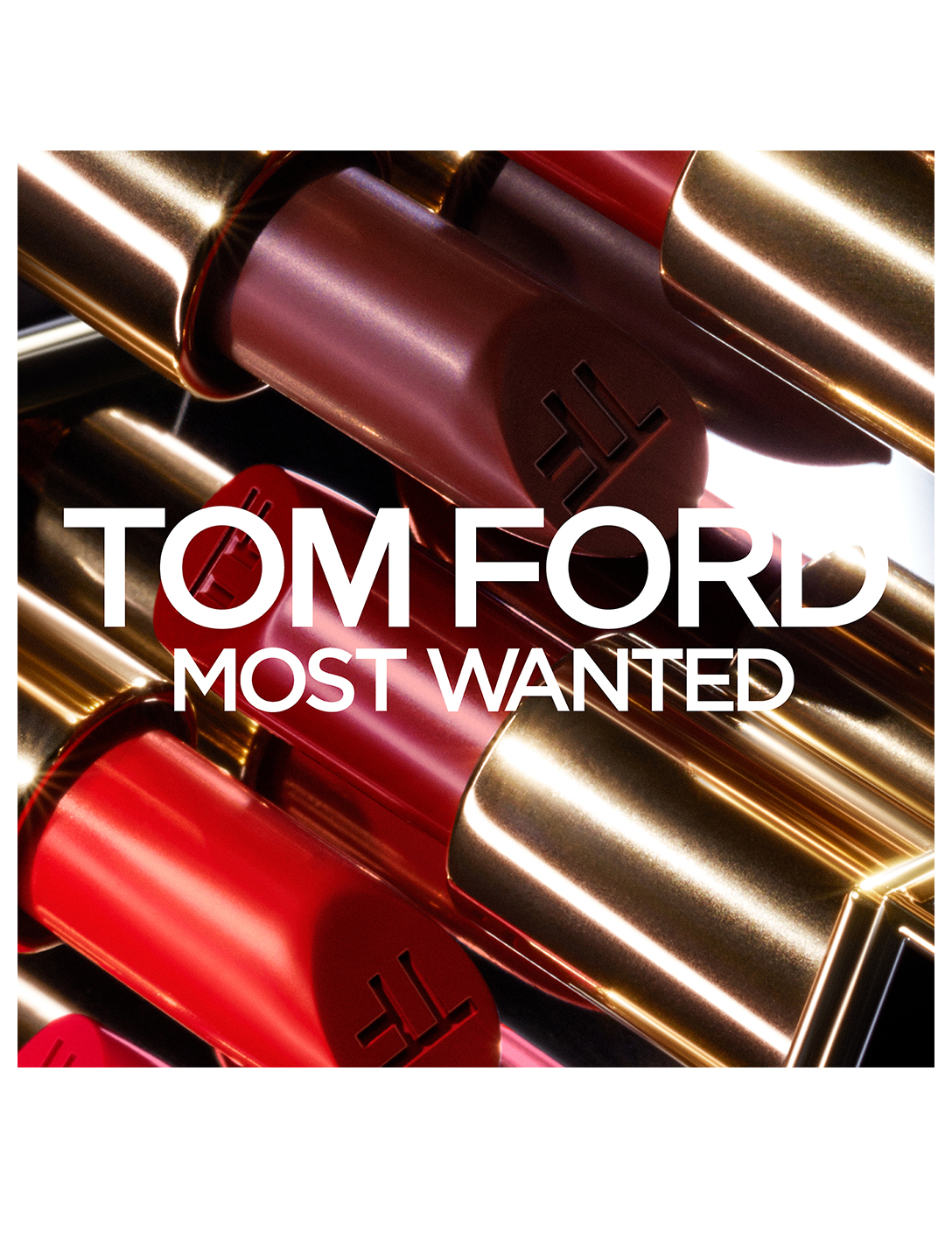 TOM FORD Lip Colour Clutch - Most Wanted Beauty Orange
