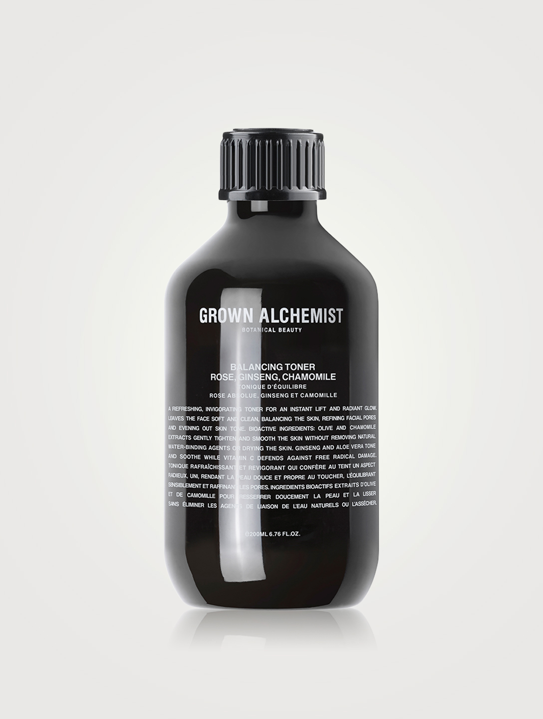 GROWN ALCHEMIST Balancing Toner: Rose, Ginseng & Chamomile Beauty