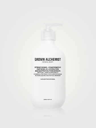 GROWN ALCHEMIST Strengthening Conditioner 0.2: Panthenol B-5, Hydrolyzed Bao-Bab Protein, Pomegranate Beauty