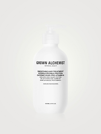GROWN ALCHEMIST Smoothing Hair Treatment: Hydrolyzed Milk Protein, Cationic Guar, Pro-Vitamin A Beauty