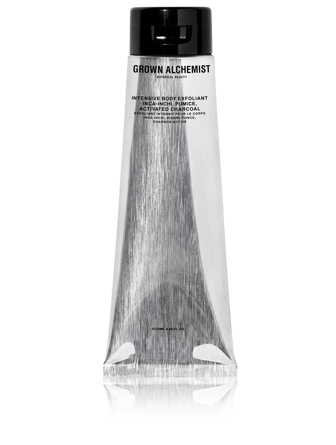 GROWN ALCHEMIST Intensive Body Exfoliant: Inca-Inchi, Pumice, Activated Charcoal Beauty