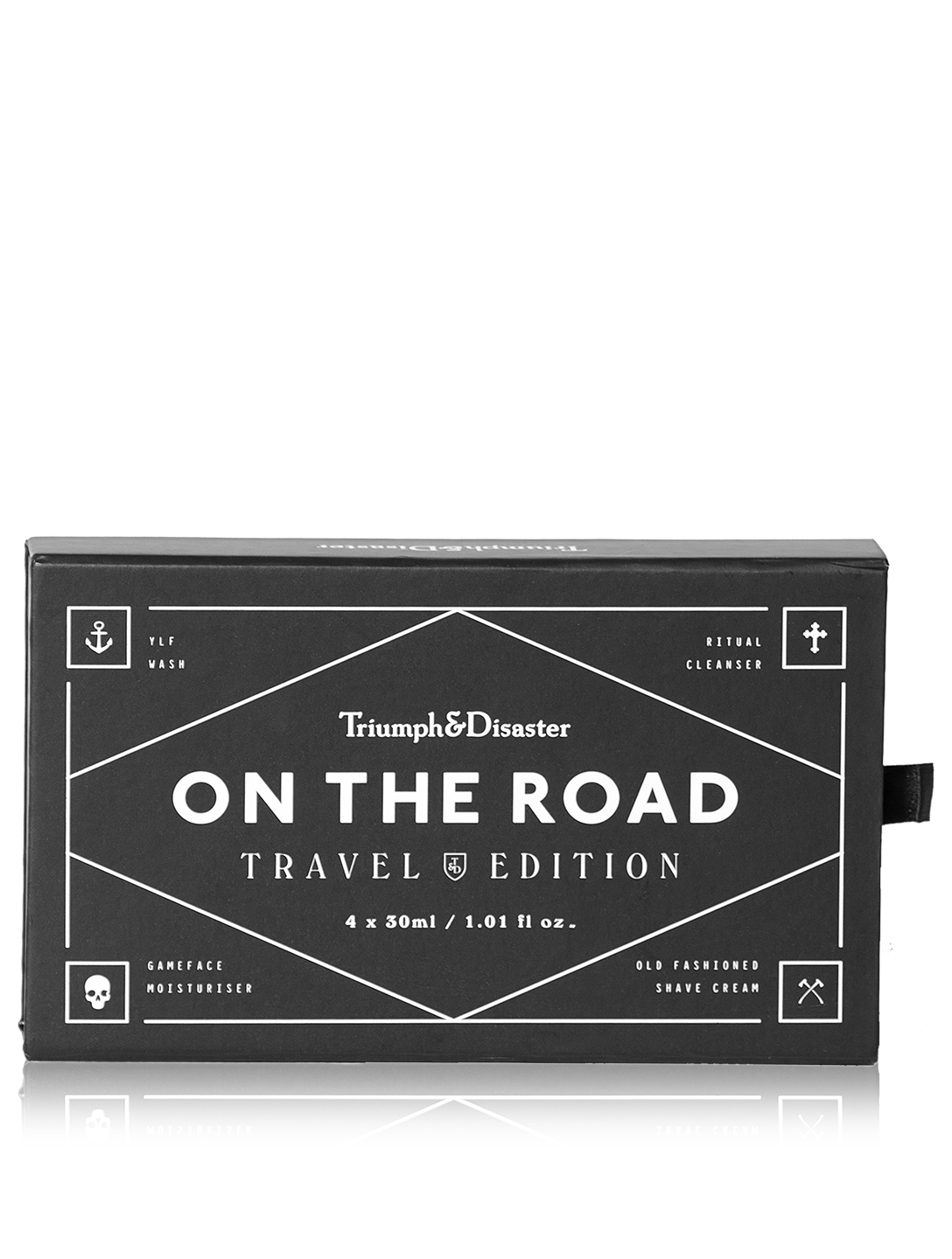 TRIUMPH & DISASTER Coffret de voyage On the Road Beauté