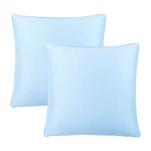 Lionel Richie Light Blue 2-Pack Euro Shams