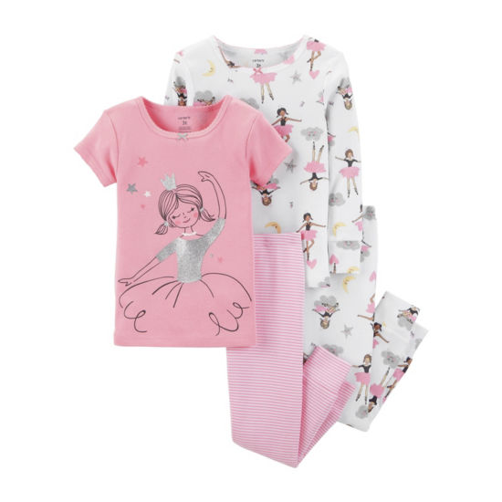 Carter's 4pc Ballerina Pajama Set -Baby Girl
