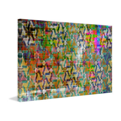 Souk Painting Print on Wrapped Canvas