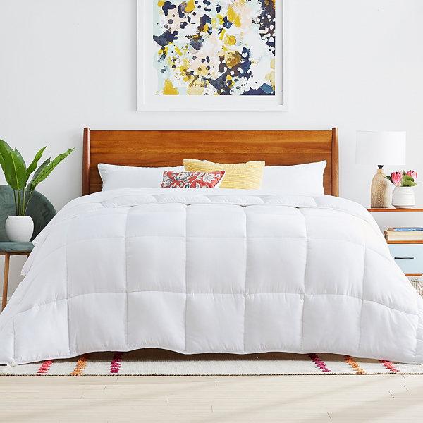 Linenspa reversible down alternative comforter jcpenney - Home design down alternative comforter ...