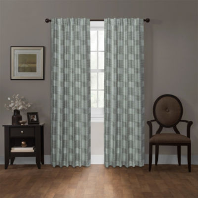 Platinum Smart Curtains Daniels Blackout Tab-Top Curtain Panel