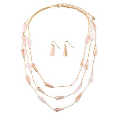 Mixit Womens Gold Tone 3-pc. Jewelry Set