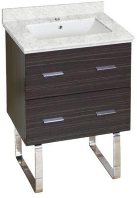 23.25-in. W 17.25-in. D Modern Plywood-Melamine Vanity Base Set Only In Dawn Grey