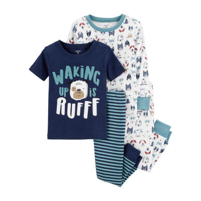 Carter's 4pc Ruff Doggies Pajama Set - Baby Boy