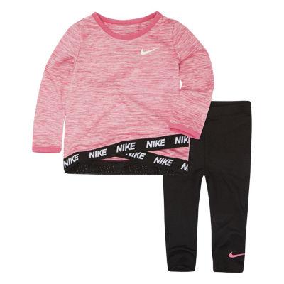 Nike Toddler Girl 2-pc Legging Set-Toddler Girls