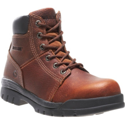 "Wolverine® Marquette Mens 6"" Steel-Toe Work Boots"