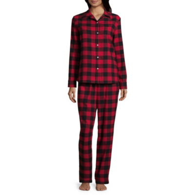 North Pole Trading Company Plaid Coat Front 2 Piece Set -Women's
