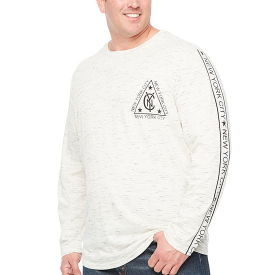 6ecea2dd03 The Foundry Big   Tall Supply Co. Mens Crew Neck Long Sleeve T-Shirt-Big  and Tall - JCPenney