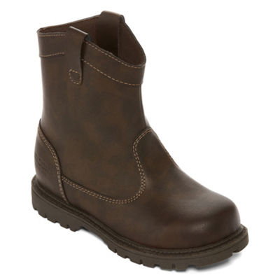 Arizona Big Kids Boys Drift Cowboy Boots Pull-on