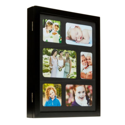 Mele & Co. Leighton Hanging Photo Frame Jewelry Cabinet