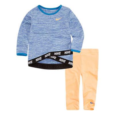 Nike Flow 4 2-pack Legging Set-Toddler Girls