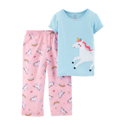Carter's 2pc Unicorn Pajama Set- Toddler Girl