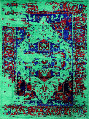 Amer Rugs Silkshine AB Hand-Knotted Silk and WoolRug