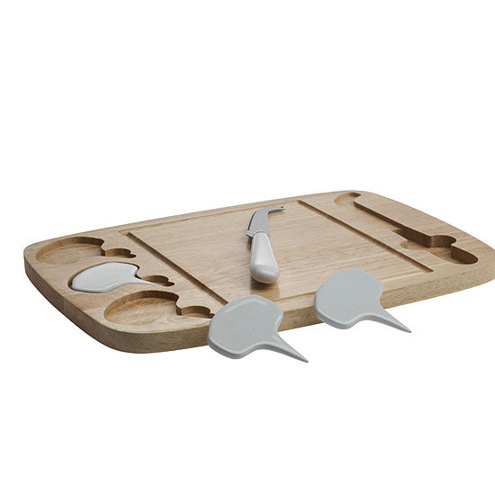 Denmark Artisanal 5-pc. Cheese Board Set