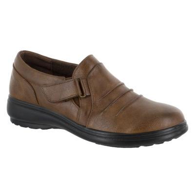 Easy Street Lively Womens Slip-On Shoes Slip-on Round Toe