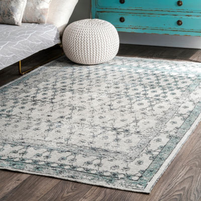 nuLoom Vintage Thomasine Lattice Area Rug