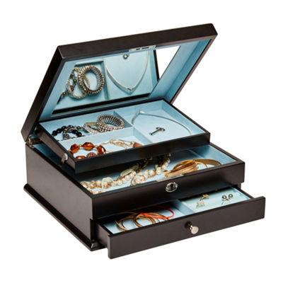 Mele & Co. Monroe Locking Jewelry Box