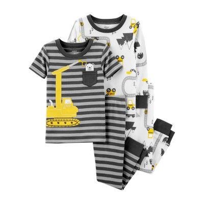 Carter's 4pc Construction Pajama Set - Toddler Boy