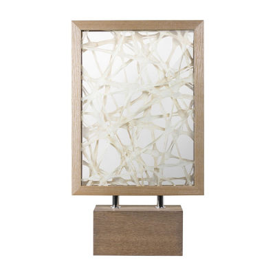 Abstract Dimensional Paper Art Rectangular Table Top Decor