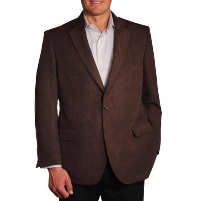 Jean Paul Germain Suede Microfiber Sport Coat