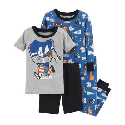 Carter's 4pc Football Pajama Set - Toddler Boy