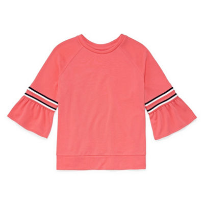 Arizona Bell Sleeve Sporty Top - Girls' 4-16 & Plus