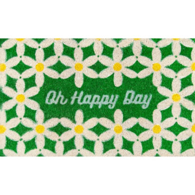 Novogratz By Momeni Aloha Happy Day Rectangular Indoor/Outdoor Accent Rug