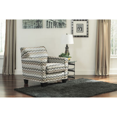Signature Design By Ashley® Gayler Stripe Accent Chair
