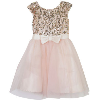 Lilt Short Sleeve Party Dress - Big Kid Girls Plus