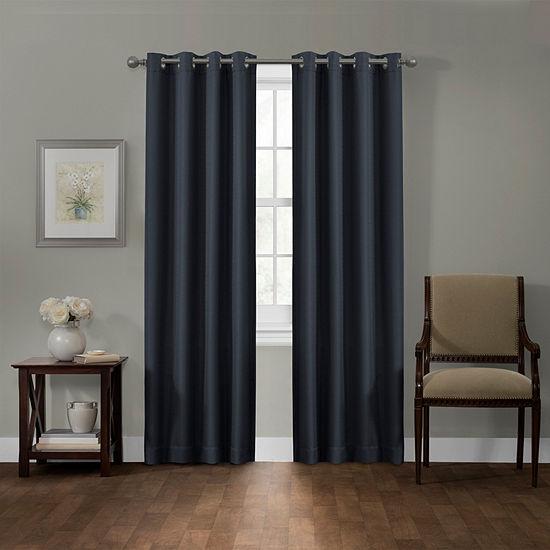 Smart Curtains Sheridan Blackout Grommet-Top Curtain Panel