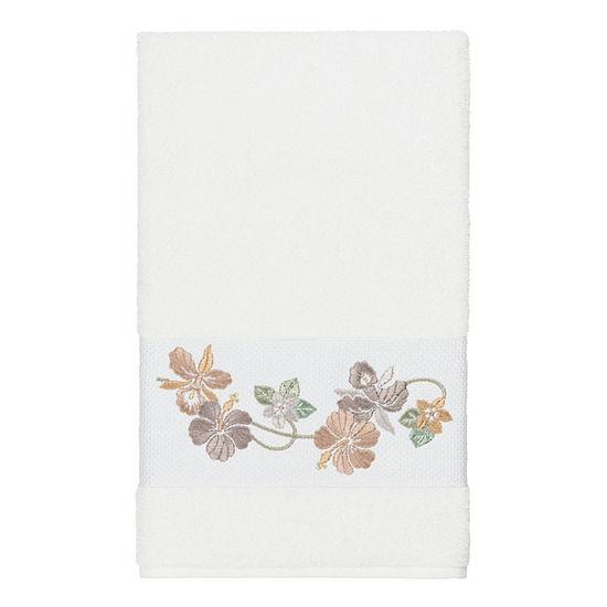 Linum Home Textiles 100% Turkish Cotton Caroline Embellished Towel Collection
