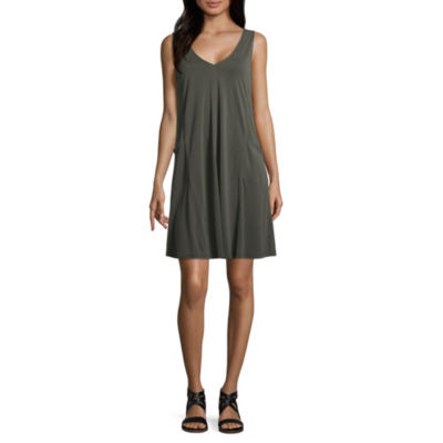 Spense Sleeveless Trapeze Dress