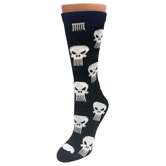 1 Pair Marvel Crew Socks-Mens