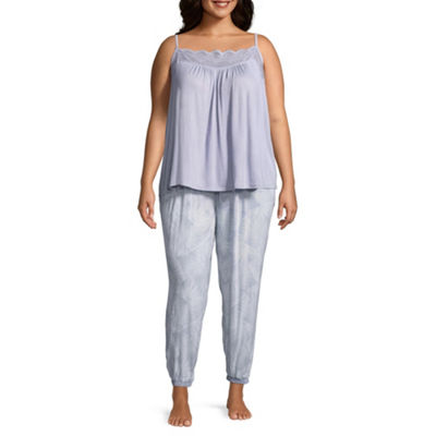 Ambrielle 2-pack Pant Pajama Set-Plus