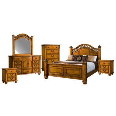 Picket House Furnishings Barrow Poster 6-pc. Bedroom Set