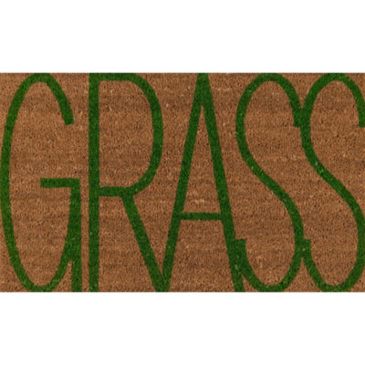 Novogratz By Momeni Aloha Grass Rectangular Indoor/Outdoor Accent Rug