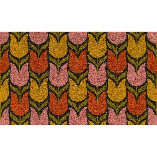 Novogratz By Momeni Aloha Tulips Rectangular Indoor/Outdoor Rugs