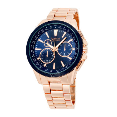 Womens Rose Goldtone Watch-Am4033rg50-524