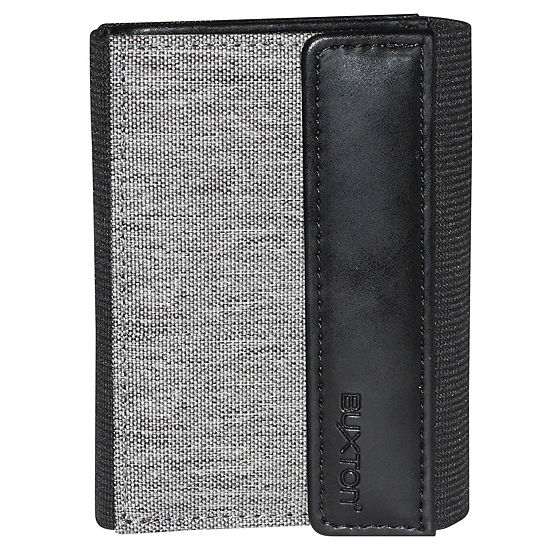 Buxton® Hooke's RFID Flex Threefold