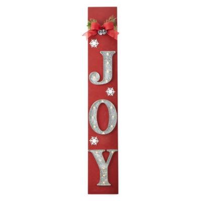 North Pole Trading Co. LED Joy Porch Sign