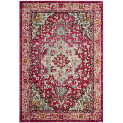 Safavieh Monaco Collection Charla Oriental Round Area Rug