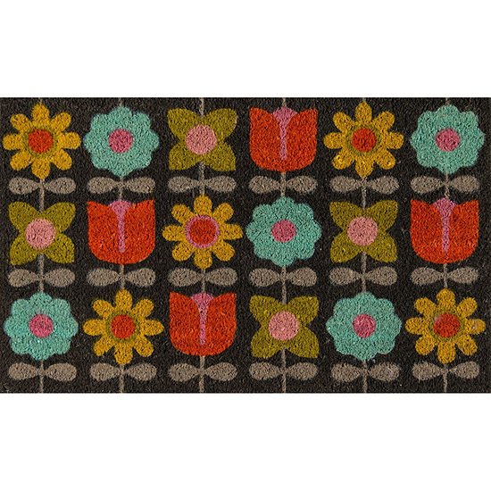 Novogratz By Momeni Aloha Flower Child Rectangular Indoor/Outdoor Rugs